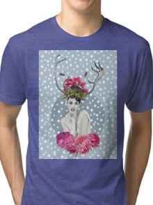 WHITE VELVET Tri-blend T-Shirt