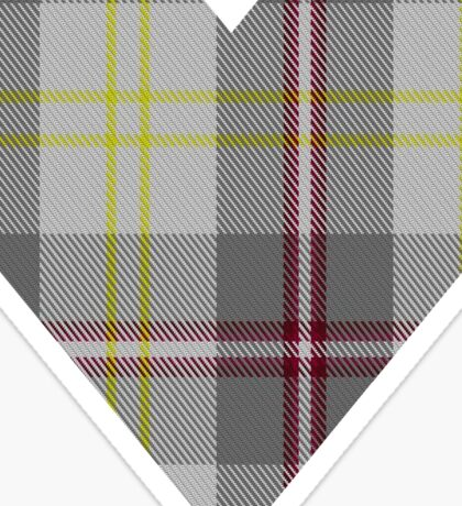 00748 Banff White Tartan Sticker