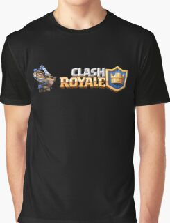 Clash Royal - Blue King Graphic T-Shirt