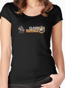 Clash Royal - Blue King Women's Fitted Scoop T-Shirt