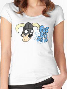 Skyrim - Fus Ro Dah Women's Fitted Scoop T-Shirt