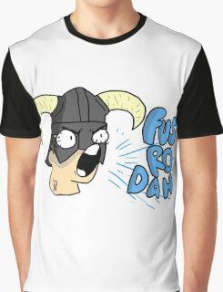 Skyrim - Fus Ro Dah Graphic T-Shirt
