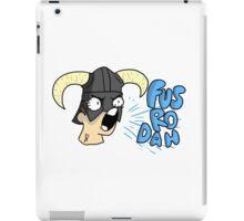 Skyrim - Fus Ro Dah iPad Case/Skin