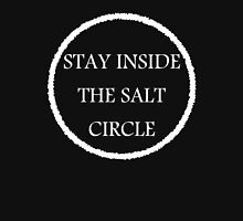Stay inside the salt circle. Womens Fitted T-Shirt