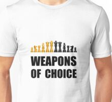 Chess Weapons Unisex T-Shirt