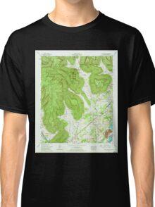 USGS TOPO Map Alabama AL Doran Cove 303698 1967 24000 Classic T-Shirt