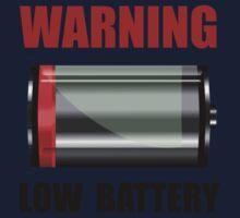 Low Battery Kids Tee