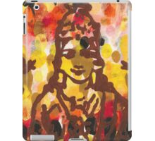 Lakshmi Goddess of Abundance yoga inspired art iPad Case/Skin