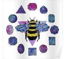 Crystal Queen Bee Poster