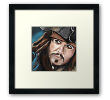 Capitan Jack Sparrow Framed Print