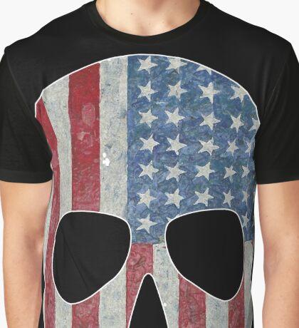 Merica Skull Graphic T-Shirt