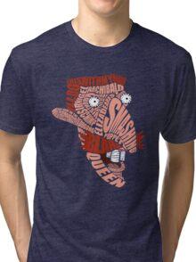 Nigel Thornberry Typography Tri-blend T-Shirt