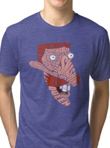 Nigel Thornberry Typography Tri-blend T-Shirt