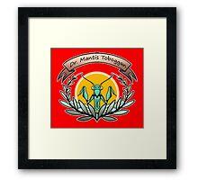 dr. mantis toboggan Framed Print