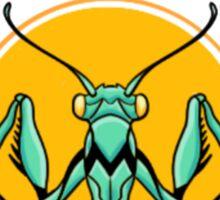 dr. mantis toboggan Sticker