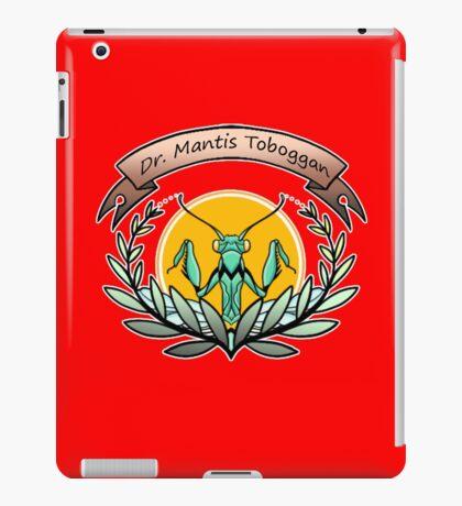 dr. mantis toboggan iPad Case/Skin