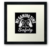Gaming Time Framed Print