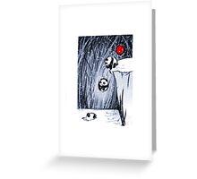 Snow Pandas  Greeting Card