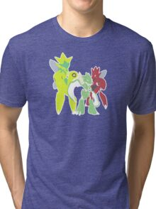 Scyther Evolution Line Tri-blend T-Shirt