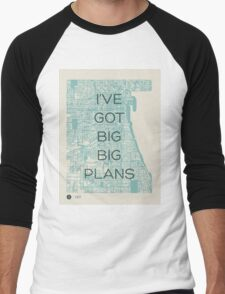 I've Got Big Big  Plans // The Front Bottoms Men's Baseball ¾ T-Shirt