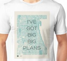 I've Got Big Big  Plans // The Front Bottoms Unisex T-Shirt