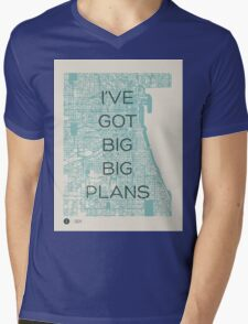 I've Got Big Big  Plans // The Front Bottoms Mens V-Neck T-Shirt