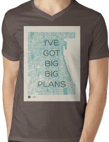 I've Got Big Big  Plans // The Front Bottoms Mens V-Neck T-Shirt