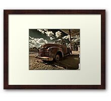 Abandoned Chevy 3100 Framed Print