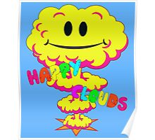 Happy Clouds Poster