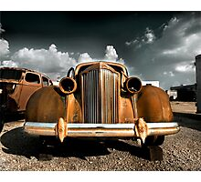 Abandoned 1940 Packard 120 Photographic Print
