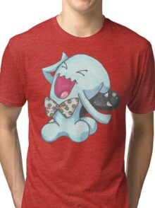 NO PROFIT Wobbufet Tri-blend T-Shirt