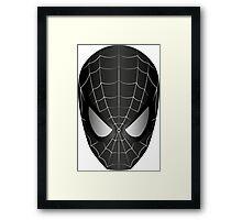 Dark Vector Spiderman Framed Print