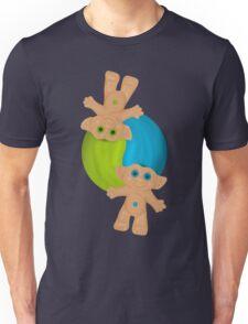 Yin-Yang Trolls Unisex T-Shirt