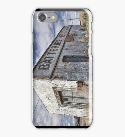 Route 66 Batteries Store iPhone Case iPhone Case/Skin