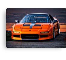 1991 Acura NSX Canvas Print