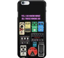 GUITAR PLAYER BOARD iPhone Case/Skin