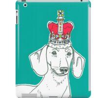 Dachshund In A Crown iPad Case/Skin