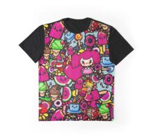 Kawaii Party Food doodle art Clothing and accessories Graphic T-Shirt