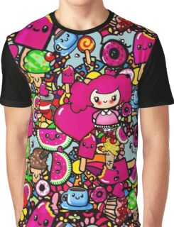 Party Food Fashion - Kawaii doodles by LeahG Graphic T-Shirt
