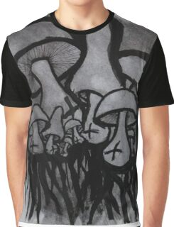 Classic Mushrooms Graphic T-Shirt