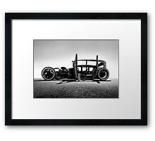 Chevrolet Rat Rod - Project Sacagawea Framed Print
