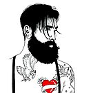 For The Love Of Bearded Men by Adam Regester