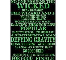 Wicked Photographic Print