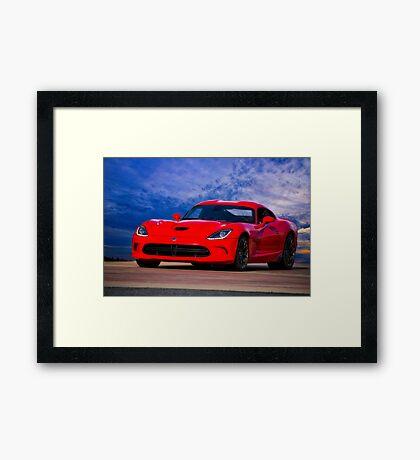 2003 Dodge Viper Framed Print
