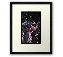 Miles Morales Spiderman Framed Print