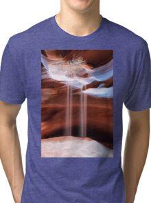Upper Antelope Slot Canyon Tri-blend T-Shirt