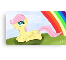Filly Fluttershy Canvas Print