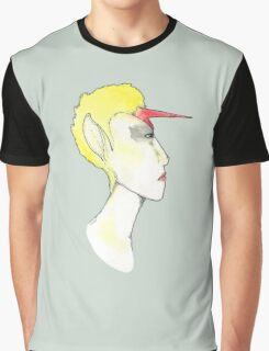 Poster Of A Girl Graphic T-Shirt
