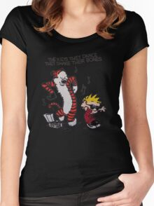 Calvin And Hobbes Women's Fitted Scoop T-Shirt
