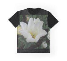 White Rain Graphic T-Shirt